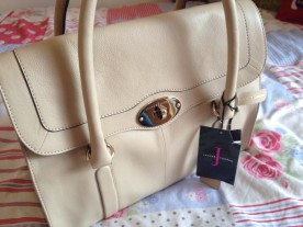Jasper Conran Cream Music Bag