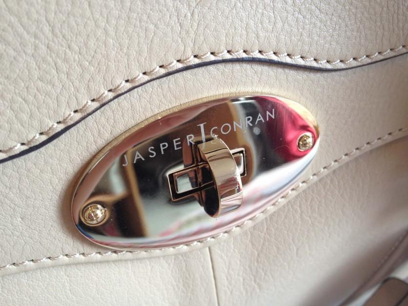 Jasper Conran Music Tote Gold Lock Detail