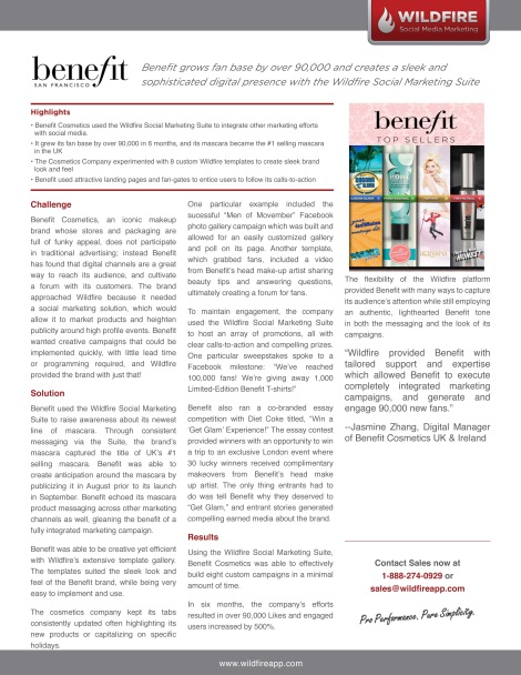 Wildfire_Case_Study Benefit Cosmetics