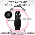 Lipsy Clothing Just In Time